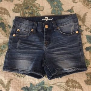 7 for all man kind jean shorts